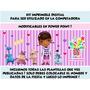 Kit Imprimible Doctora Juguetes Incluye Candy Bar!