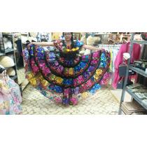 Vestido Chiapas Doble Ruedo Juvenil