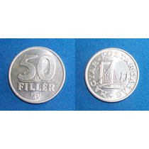 Moneda Hungria 50 Filler 1991 Sin Circular