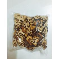 Super Oferta Letras En Madera Bolsita 30 Unid De 1,5cm
