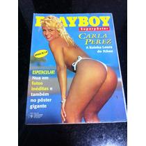 Playboy Especial Carla Perez Poster Gigante Da Musa Do Axe