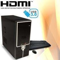 Pc Gamer Amd Quad Core Asus Hdmi Usb3 Lol Minecraft