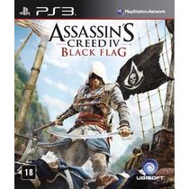 Assassin`s Creed Iv: Black Flag (português) Ps3 Ubi Lacrado