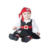 Disfraz Bebe Pirata Niña Halloween