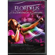 Dvd Flordelis - Testemunho E Louvor (ao Vivo).