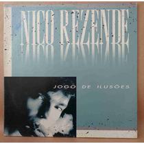 Nico Rezende Lp Nacion Usado Jogo De Ilusões 1988 Capa Dupla