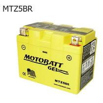 Bateria De Moto Gel Selada Mtz5br - Honda C 100 Dream