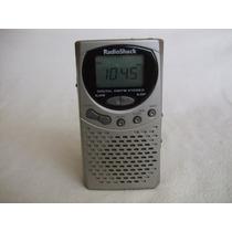 Radio Am-fm Radio Shack Mod. 12-802 Digital Vintage Alarma