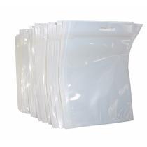 100 Bolsas Célofan Pastico Exhibición Tipo Ziploc 8.5 X 11
