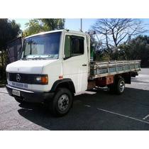 Vendo Caminhão Mb 709.carroceria De Madeira.