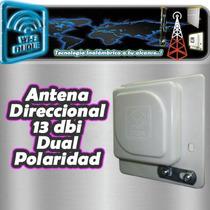 Antena Cliente Wifi Duque 13dbi Direccional Sma Conector