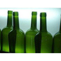 Botellas De Vidrio -vino - Recicladas