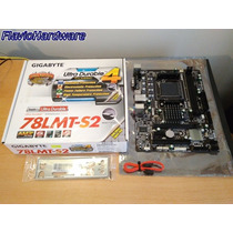 Mother Gigabyte Ga-78lmt-s2 Socket Am3 Ddr3 Pcie Nuevo Box
