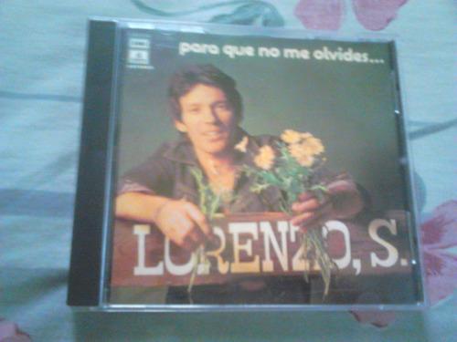 Cd lorenzo santamaria para que no me olvides muy raro u - Para que no me olvides ...