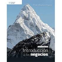 Libro Introducción A Los Negocios - Pride - 4 Edicion