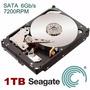 Hd 1tb Sata 6gb/s 7200rpm - 64mb 1000gb Seagate