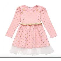Vestido Princesa Rosa Fiesta Hermoso Envío Gratis