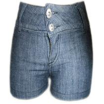 Short Jeans Fem Black Tam 36 Ref 1421
