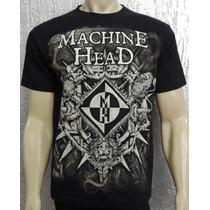 Camiseta De Banda - Machine Head - Bloodstone & Diamonds