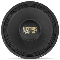 Auto Falante Woofer Eros 15 Target Bass 3.0k 1500w Rms 4ohms