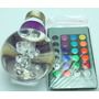Lampara Led E27 3w Rgb C/ Remoto 16 Colore Rgb 3w 220w Mo 14