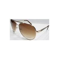 Óculos De Sol Guess - Novo/original Guf 121 Gld-34a