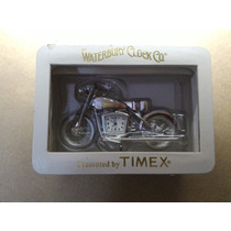 Relogio Decorativo Moto Antiga (tipo Harley) Timex