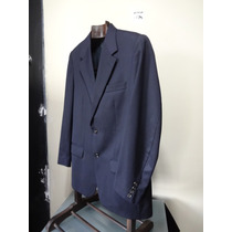 Paletó Ralph Lauren 100 % Lã Azul Marinho