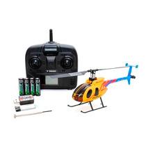 Helicóptero Elétrico Solo Pro 127 C/ Rotor De Cauda Amarelo