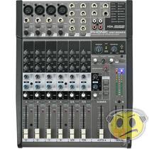 Mesa Som Phonic Am 1204fx 12 Canais Efeito - Loja Kadu Som