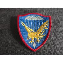 Distintivo Bordado Da Brigada Paraquedista Antigo