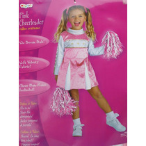 Disfraz Talla 3 Años Niña Porrista Rosa Vestido