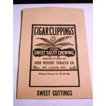 Antigua Etiqueta Cigarros Habanos John Weisert Usa Imp.