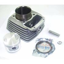 Kit Cilindro Dafra Speed Pistão + Anéis Novo Cod 070493