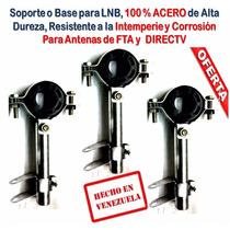 Soporte Fta Metálico Aro Plástico Antena Ku Lnb Lnbf