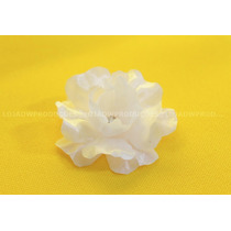 Mini Flor De Tecido Kit C/ 25 Unidades