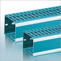 Canaleta Ranurada Color Azul