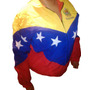 Chaqueta Tricolor Venezuela Y Vinotinto