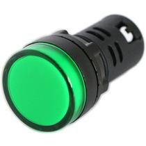 Lampara Piloto Led Color Verde 22mm 24vdc