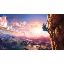 Zelda En Tela Canvas Montado En Bastidor 140x80 Cm Exelente