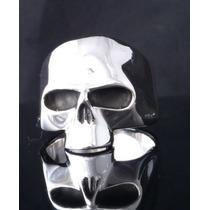 Anillo Cráneo De Plata Tamaño 19