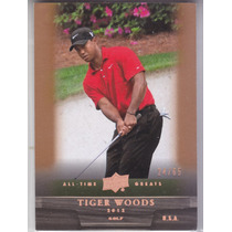 2012 Ud All Time Greats Golf Tiger Woods 24/65