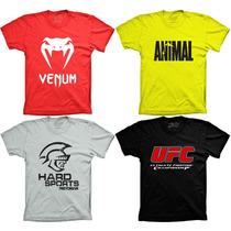 Camiseta Ufc Mma Swat Camisa Luta Chuck Noris Super Herois
