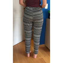 Pantalon De Verano H&m Super Fresco Nuevo Sin Etiqueta