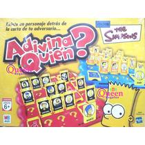 Adivina Quien? The Simpsons Juego Original Hasbro Toyco
