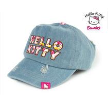 Envio Gorra Hello Kitty Mezclilla Ajus 100% Algodon Cachucha