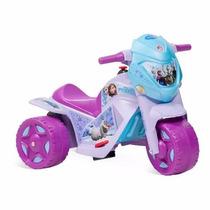 Ban Moto Eletrica Infantil Frozen Menina - Bandeirante
