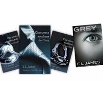 Libros Trilogía 50 Sombras De Grey+ Libro Grey+ Envío Gratis