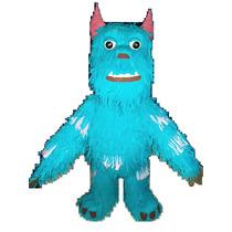 Impresionante Piñata Grande 1,20m Figura Sulley Monsters Inc