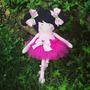Muñecas Bailarinas Tutu Decoración De Cuarto Infantil